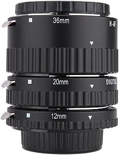 Mcoplus EXTNP Verlängerungsrohr für Nikon, Schwarz