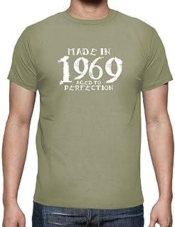 fc9ea0cf6 latostadora - Camiseta 1969 Kiralynn Blanco para Hombre