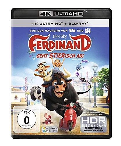 Ferdinand - Geht STIERisch ab! (4K Ultra HD) (+ Blu-ray 2D)