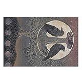 Viking Crow - Puzle de espejo martillado para adultos, 200/300/500/1000 piezas, gran juego de rompecabezas, regalo educativo, [rtag1], puzle para niños y jóvenes, color blanco, 1000 piezas