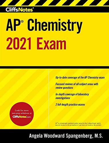 CliffsNotes AP Chemistry 2021 Exam