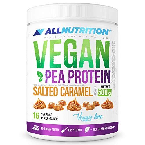 Allnutrition Vegan Protein, Salted Caramel, 500g (EAN 5902837735603)