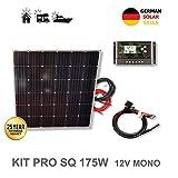 kit solar autocaravana monocristalino