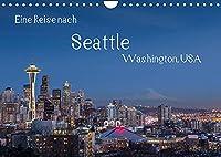 Eine Reise nach Seattle (Wandkalender 2022 DIN A4 quer): Seattle, groesste Stadt des Nordwestens der USA. Vielfaeltig, gruen und industriell. (Monatskalender, 14 Seiten )
