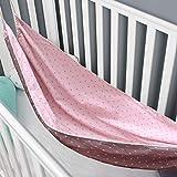 Babybett-Hängematte, Schlafwiege aus Baumwolle, abnehmbares Schaukelbett für Neugeborene, Säuglinge, Kleinkinder