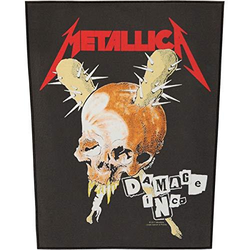 Unbekannt Metallica Damage INC. Backpatch/Rückenaufnäher