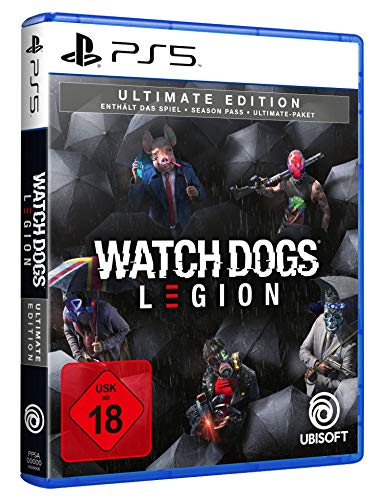 Watch Dogs Legion - Ultimate Edition | Uncut [PlayStation 5] [Importación alemana]