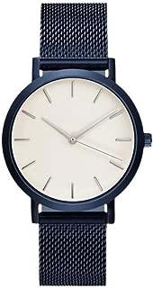 クリアランスメンズ腕時計、jushyeメンズとレディースファッションクリスタルステンレススチールアナログクォーツ腕時計ブレスレット マルチカラー