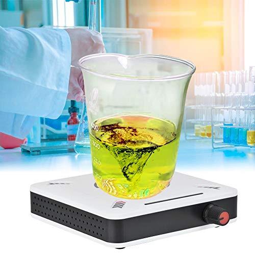 Mini Magnetrührer, Kunststoff 1000ml 25W Keine Vibration Magnetrührer Mixer Maschine 0-2400 U/min, für Labor Schule Liquid Mixing(EU)