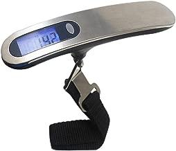LJBOZ Digital Electronic Kitchen Scales,50kg / 10g Digital LCD Luggage Scale Portable Electronic Scale Weight Balance Travel Hanging Hook Scale