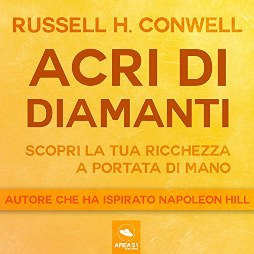 Acri di diamanti audiobook cover art