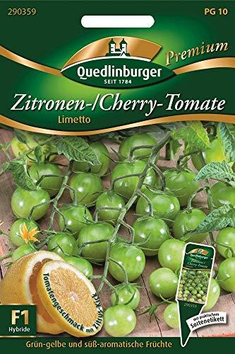 Quedlinburger 290359 Zitronen-/ CherryTomate Limetto F1-Hybride Hybride (Tomatensamen)