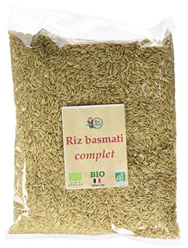 RITA LA BELLE - Riz Basmati Complet BIO, 5 kg