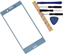 F5321 Outer Glass Screen Replacement for Sony Xperia X Compact Mist Blue
