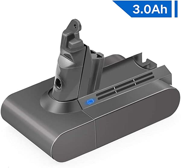 21 6V 3000mAh Li Ion Battery For Dyson V6 Battery DC58 DC59 DC61 DC62 595 650 770 880 Animal DC72 Series Handheld 21 6 Volt Vacuum V6 Li Ion Dyson Battery