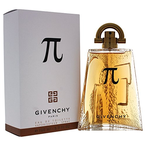 Pi By Givenchy For Men. Eau De Toilette Spray 3.3 Ounces