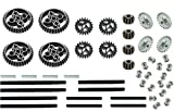 (USA Warehouse) LEGO 46pc gear axle SET Technic Mindstorm nxt motor power functions double bevelITEM#NO: 43E8E-UFE6 C2A1575