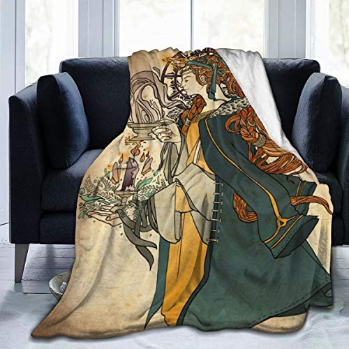 Imbolc Brigid Goddess Celtic Cross Blessing Rituals Candle Full Fleece Throw Blanket Comforter Plush Soft Cozy Quilt Nursery Bedding Decor Bedroom Decorations Flannel Fluffy Queen King Size