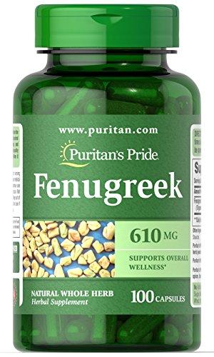 Aceite De Fenogreco marca Puritan's Pride