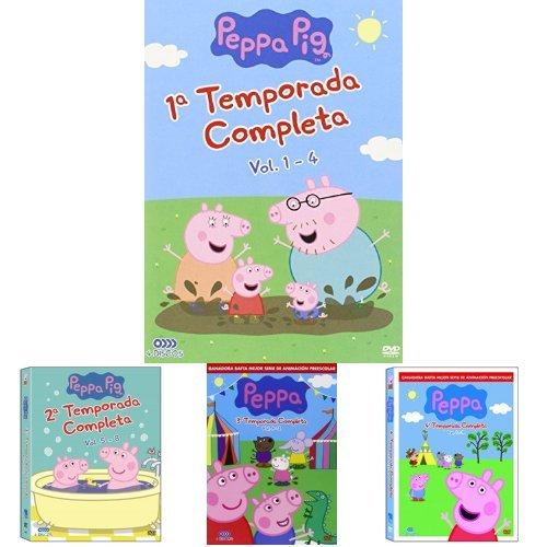 Pack Peppa Pig: Volumenes 1 a 6 + Las Vacaciones Y Otras Historias + La Navidad Y Otras Historias