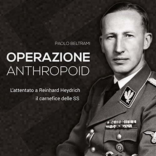 Operazione Anthropoid audiobook cover art
