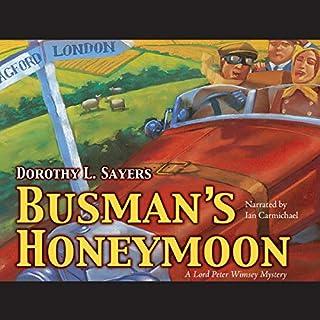 Busman's Honeymoon audiobook cover art