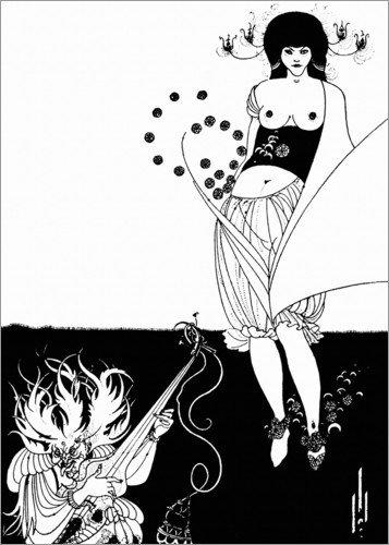 Posterlounge Cuadro de metacrilato 60 x 80 cm: Salome: The Stomach Dance de Aubrey Vincent Beardsley