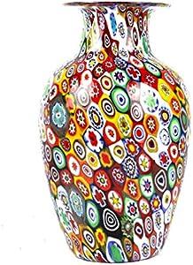 Millefiori Mix - Jarrón de cristal de Murano