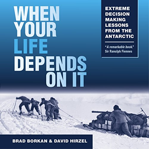 When Your Life Depends on It Audiobook By Brad Borkan,                                                                                        David Hirzel cover art