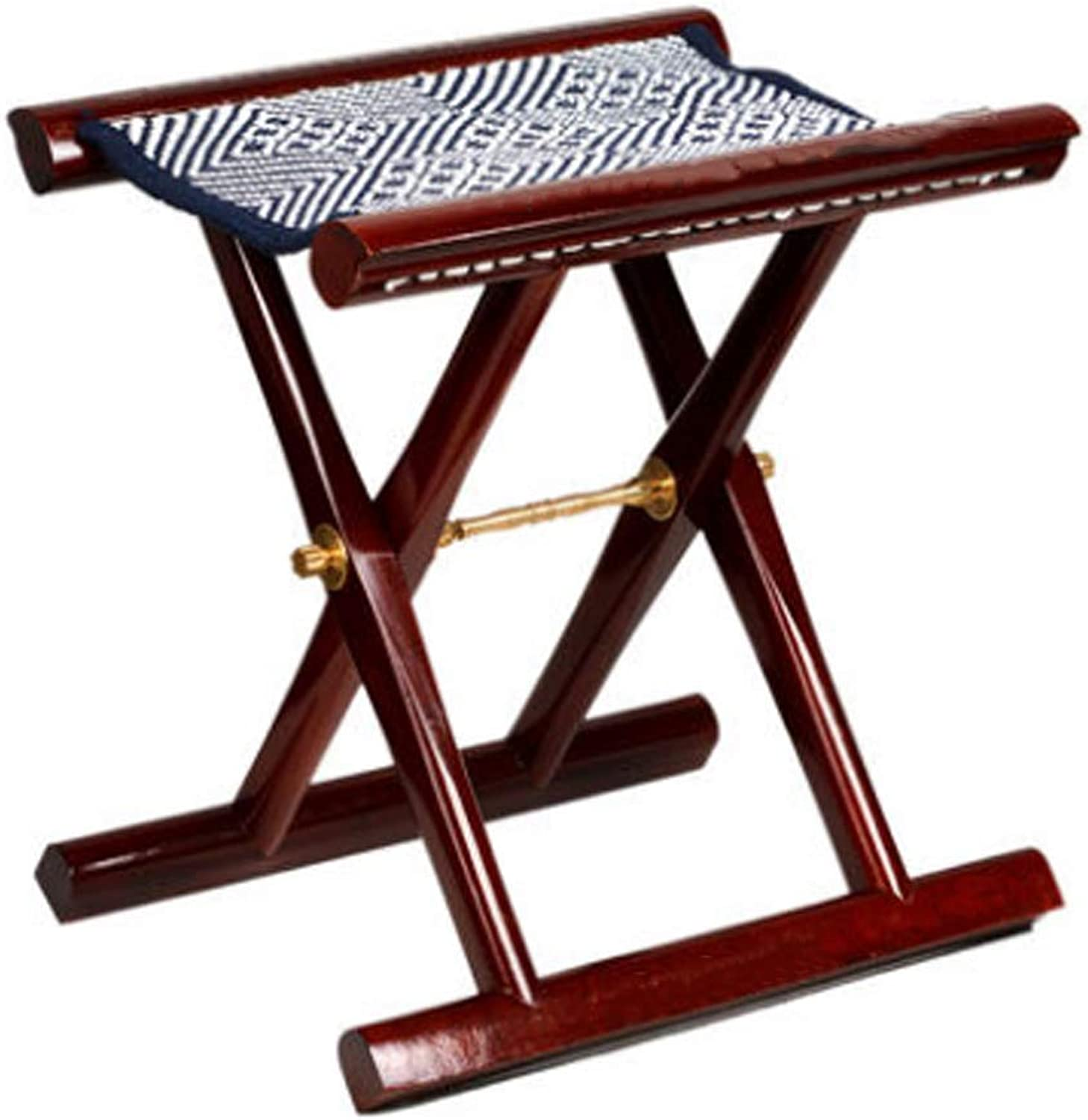 Outdoor Products Portable Folding Chairs Folding Stool, Pure Wood, Easy to Carry and Light Beach Chair