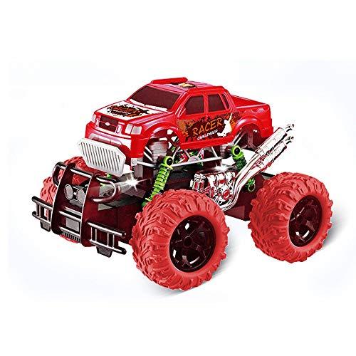 Fernbedienung Auto for Jungen Mädchen 2. 4 GHz RC Stunt Auto for 3 -12 Jahre alt Kinder High Speed Wiederaufladbare Batterien Fernbedienung Auto Off Road RC Auto Spielzeug Geschenk ( Color : Rot )