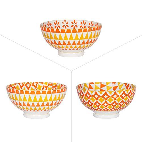 Table Passion - Coupelle 11,5cm ocata porcelaine assortie (lot de 6)