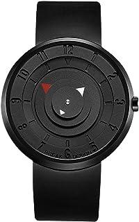 Break Unique Disc White Geek Wristwatches Cool Unisex Men Women's Lovers Quartz Fashion Casual Watches