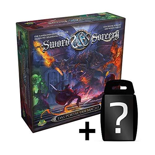 Sword & Sorcery - Das Portal der Macht - Erweiterung | Brettspiel | DEUTSCH | Set inkl. Kartenspiel