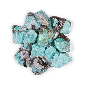 "Crystal Allies 1 Pound Bulk Rough Blue Sodalite Reiki Crystal Healing Stones Large 1"""