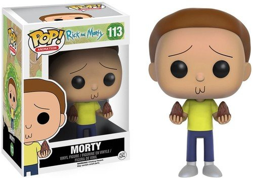 Funko - POP! Vinilo Colección Rick & Morty - Figura Morty (