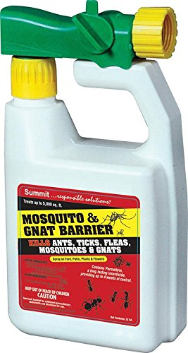 Summit Mosquito and Gnat Barrier Covers 5,000 Square Feet, 32fl.oz.