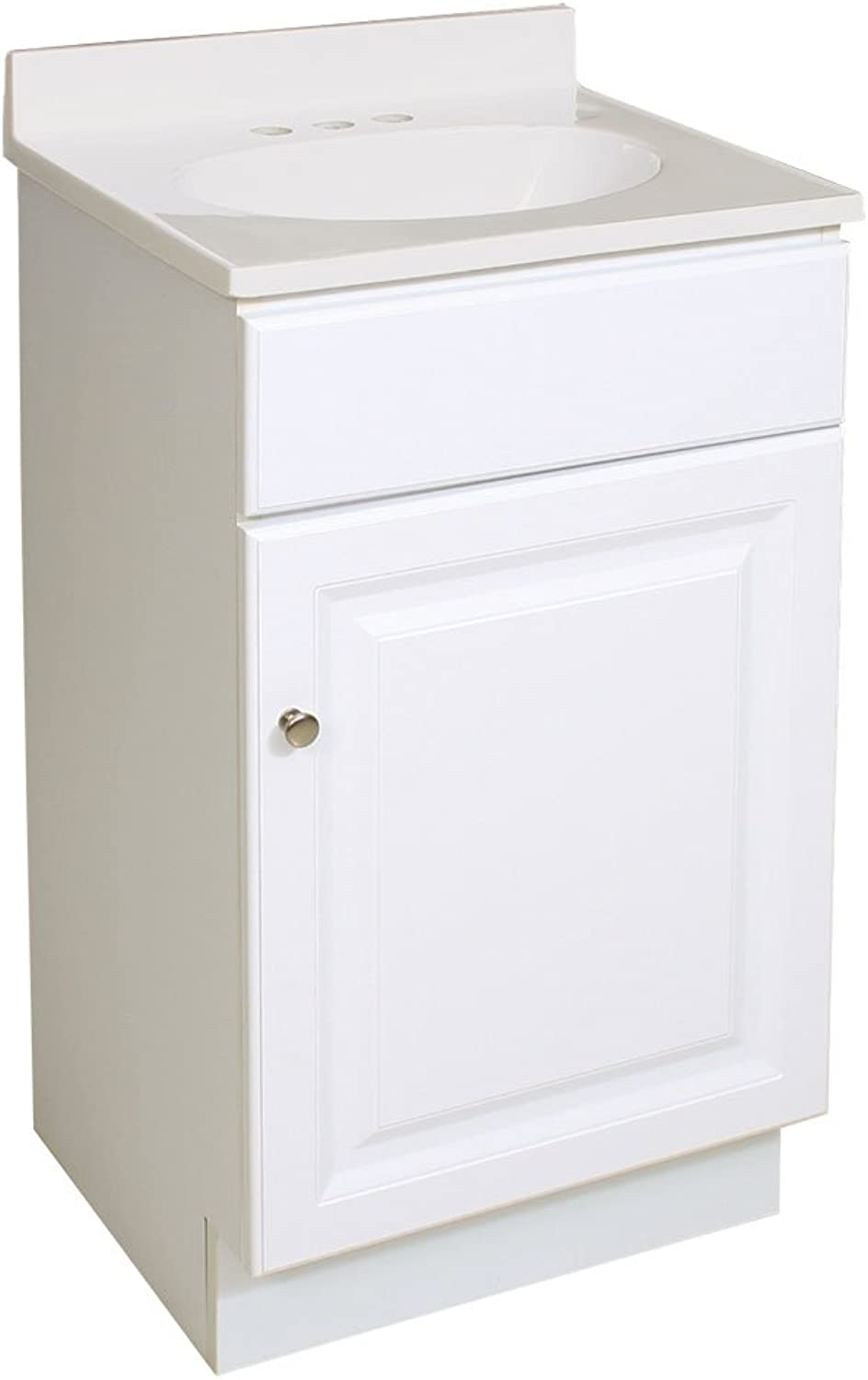 Design House 531723 18-Inch by 16-Inch Wyndham Ready-to-Assemble 1 Door Vanity, White