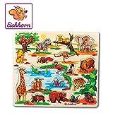 Eichhorn 100005454 - Steckpuzzle 40x35cm mit 21-23 Steckteilen