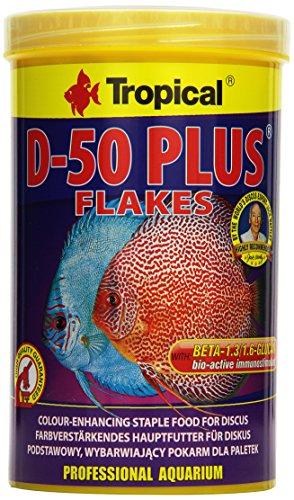 Tropical D-50 Plus Flockenfutter, 1er Pack (1 x 1 l)