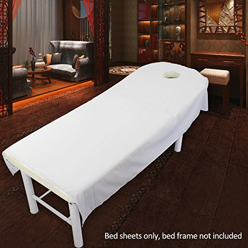 Sábana bajera ajustable de esponja de lujo, tratamiento de masaje de belleza,...