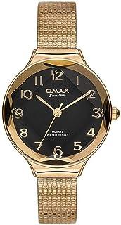 ساعة يد بعقارب وبسوار مصنوع من سبيكة معدنية مقاومة للماء طراز 00FMB008Q002 للنساء