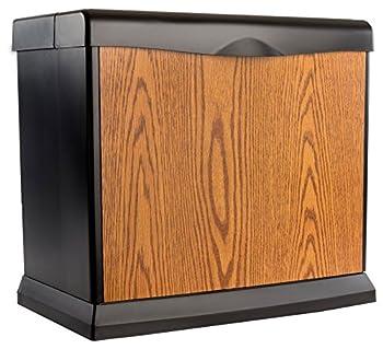 AIRCARE EA1407 Digital Whole-House Console-Style Evaporative Humidifier Honey Oak