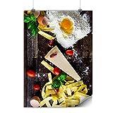 Wellcoda Kunst Küche Käse Essen Plakat Käse A1 (84cm x