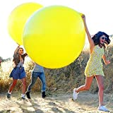 Gogogo 1 × 36 Zoll Latex Riesige Ballon für Hochzeit im Freien Party Geburtstag Fest Dekor (Rot)