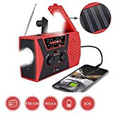 Best Crank Radios - [2020 Premium Version] Emergency-Solar-Hand-Crank-Radio,Puiuisoul Portable NOAA Weather Radios Review