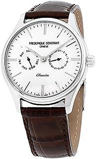 Frederique Constant Classics White Dial Leather Strap Men's Watch FC259BRST5B6