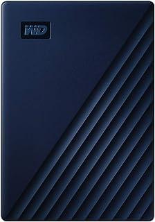 WD 4TB My Passport for Mac Portable External Hard Drive - Blue, USB-C/USB-A - WDBA2F0040BBL-WESN