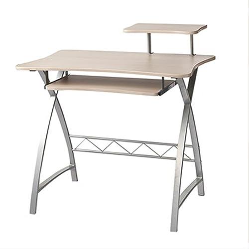 NAN Tableau de Recherche de Poste de Travail et de Table de Bureau de Bureau d'ordinateur de Bureau, Cadre en métal en Forme de X