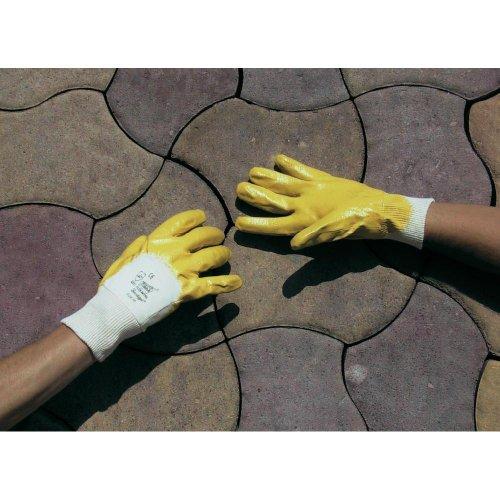L+D worky Flex Nitril 1496 Nitrilkautschuk Arbeitshandschuh Größe (Handschuhe): 8, M EN 388-2003 CAT II 1 Paar